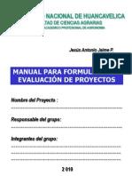 Manual Formulacion Proyectos Inversion
