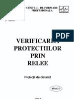Verificarea Releelor de Protectie Si Automatizare