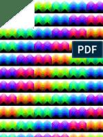 Rainbow Cubic Waves