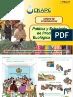 Política y Estrategia de Producción Ecológica Nacional