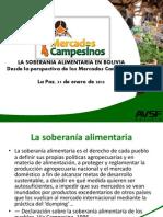 Soberanía Alimentaria en Bolivia