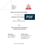 Environnement E Commerce Plate Forme Internet