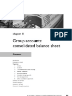 FA Chapter 11 Group Accounts Consolidated Balance Sheet