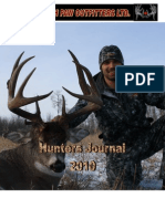 SouthPaw Outfitters Hunters Journal 2010