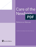 Care of the Newborn Reference Manual Eng