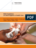 26188495 WHO Guidelines Hand Hygiene in Health Care