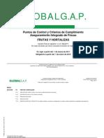 NORMAS GLOBAL GAP -Frutas y Hortalizas- Versión 4