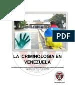La Criminologia en Venezuela