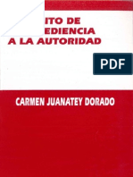79360206 Juanatey Dorado Carmen El Delito de Desobediencia a La Autoridad