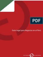 Guia Legal Para Negocios en El Peru