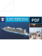 Royal Caribbean WOW Sale Feb 25-27, 2013