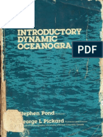 Introductory Dynamical Oceanography by Pond & Pickard (p&p)