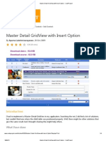 Master Detail GridView With Insert Option - CodeProject