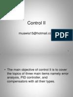Control II