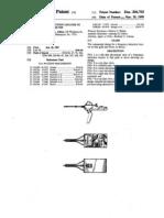 Electroscope Patent USD306703