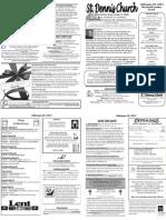 Feb 24 Bulletin