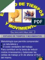 Estudios de Tiempos y Movimiento