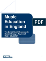 Music Education in England