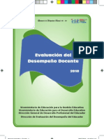 Manual Instructivo Para Evaluacion Docente