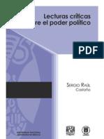 CASTAÑO. Sergio Raúl, LECTURAS CRÍTICAS SOBRE EL PODER POLÍTICO. 1a. ed. UNAM, 2012