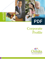 Ormita Corporate Profile