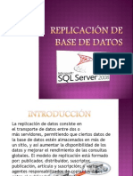 Replicación de Base de DATOS