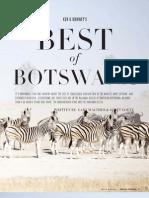 San Camp, Best of Botswana - Bespoke, Ker & Downey Magazine