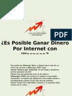 Es Posible Ganar Dinero Por Internet Con Wasanga-Wasanga 100%
