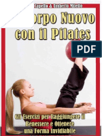 115743797 eBook E Book Un Corpo Nuovo Con Il Pilates Gli Esercizi Per Raggiungere Il Benessere e Ottenere Una Forma Invidiabile