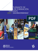 Guía del Estudiante de Carreras de Formación Docente 2011 3ra ed.