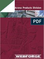 Webforge Access Brochure v3