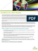 Examples of Large Barter Transactions