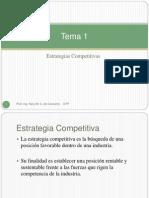 Introduccion a la Creación de Ventajas Competitivas
