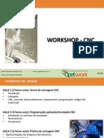 Cnc - Workshop Opet