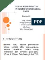 Askep Edema Paru_kep Kritis