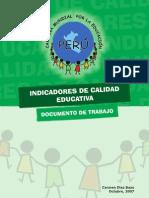 20080826-Informe Indicadores de Calidad Educativa