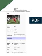 Fútbol tecnicas de futbol