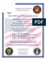 Military Education Flyer 022713