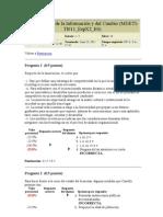 Test Sociedad de La Informacion y Del Cambio Examen 3 Maestria