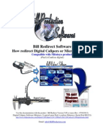 Digital Calipers Software Mitutoyo with Serial Port RS232