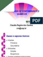 Toxicologia de Contaminates Quimicos