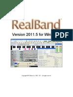 RealBand 2011_5 Manual