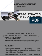 Teras Strategik Dan Objektif ICT