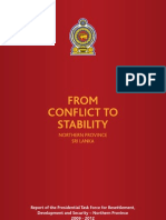 FROM CONFLICT TO STABILITY IN SRI LANKA