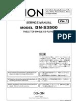 Denon DNS3500 CD