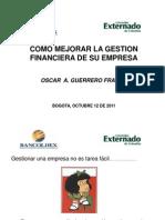 3225 Gestion Financiera Bogota Octubre 2011