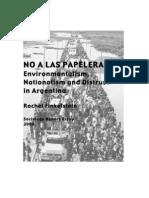 NO a LAS PAPELERAS- Environmentalism Nationalism and Distrust In