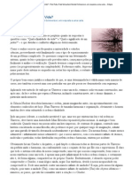 Qual é a Finalidade da Vida_ - Pelo Rebe, Rabi Menachem Mendel Schneerson, em resposta a uma carta.pdf