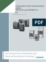 SENTRON WL VL Circuit Breakers With Communication Capability MODBUS en en-US