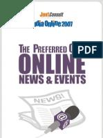 Online News & Events Report - 2007